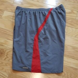 Fitness Gear Shorts Gray with Inner Mesh Lining